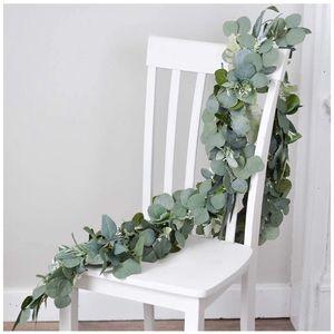 Artificial Eucalyptus Garland Faux Silk Leaves 🍃